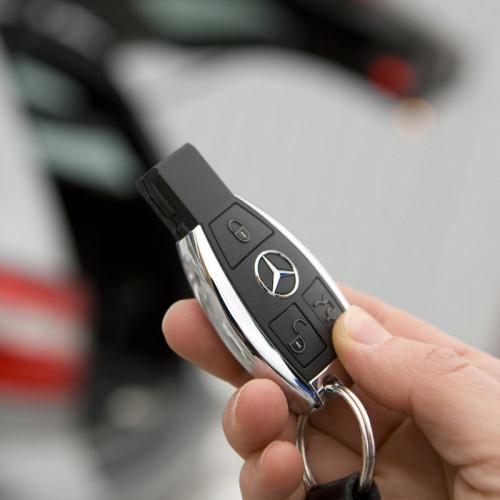 Ключ зажигания с чипом
