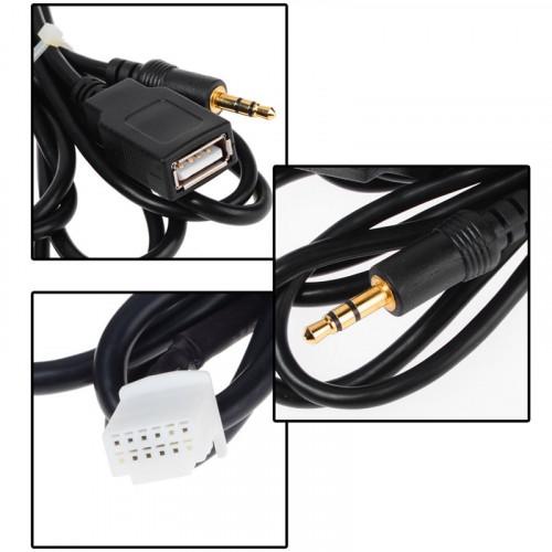 Подключение AUX USB к штатным магнитолам
