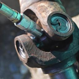 Шприцовка кардана